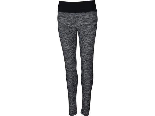YORK Neni Leggings Funcionales Mujer, grey melange/black